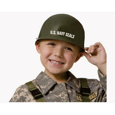 Dress Up America 583 Navy Seal - Army Special Forces Helmet - Size Kids](Army Themed Dress Up)