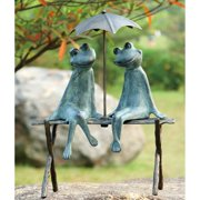 San Pacific International Frog Lovers Garden Sculpture