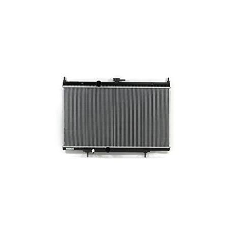 Radiator - Pacific Best Inc For/Fit 13020 07-12 Nissan Sentra L4 2.5L Plastic Tank Aluminum