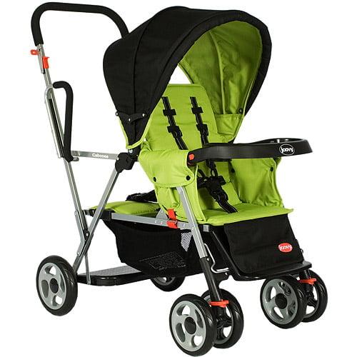 Joovy - Caboose Stand On Tandem Stroller, Appletree