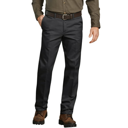 Genuine Dickies Men's Flat Front Comfort Waist Flex (Dockers Mens Alpha On The Go Pant)