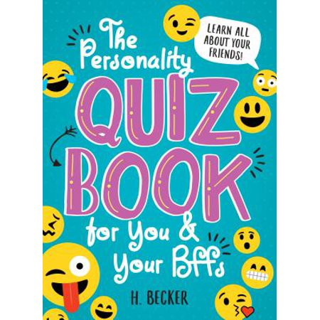 Personality Quiz Book for You and Your BFFs, The - Halloween Quiz Level 1