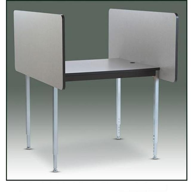 Smith Carrel 01085C Conference Carrel 24-29 inch Adj.  Ht.  Starter
