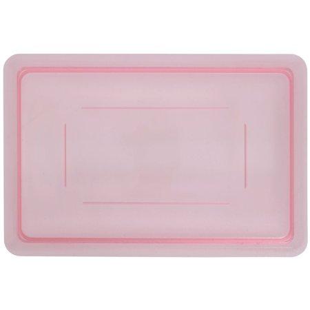 Carlisle Spectrum StorPlus Storage Box Lid  Red Plastic Half Size  - 18