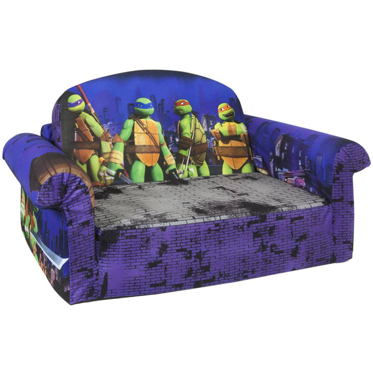 Marshmallow 2 In 1 Flip Open Sofa, Teenage Mutant Ninja Turtles