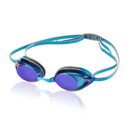 b849ef3e0bdc Speedo Vanquisher 2.0 Mirrored Swim Swimming Competition Goggle - Horizon  Blue - Walmart.com