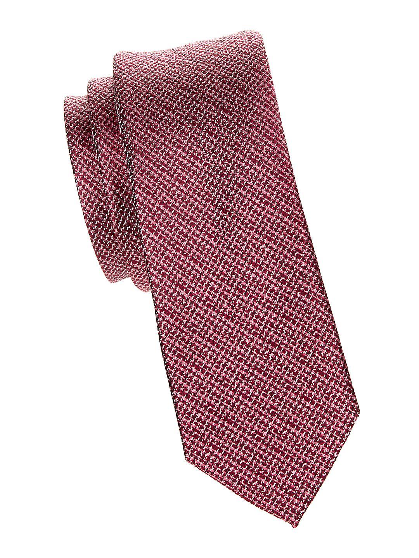Classic Textured Slim Tie