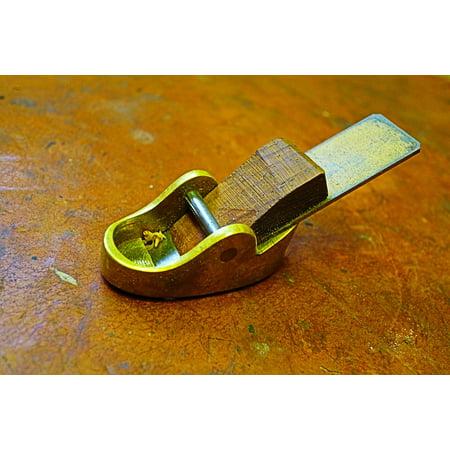 Canvas Print Woodworking Tools Vintage Equipment Plane Tool