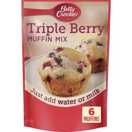 Betty Crocker Muffin Mix, Triple Berry