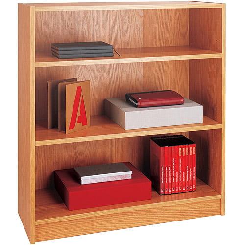 3-Shelf Bookcase, Oak