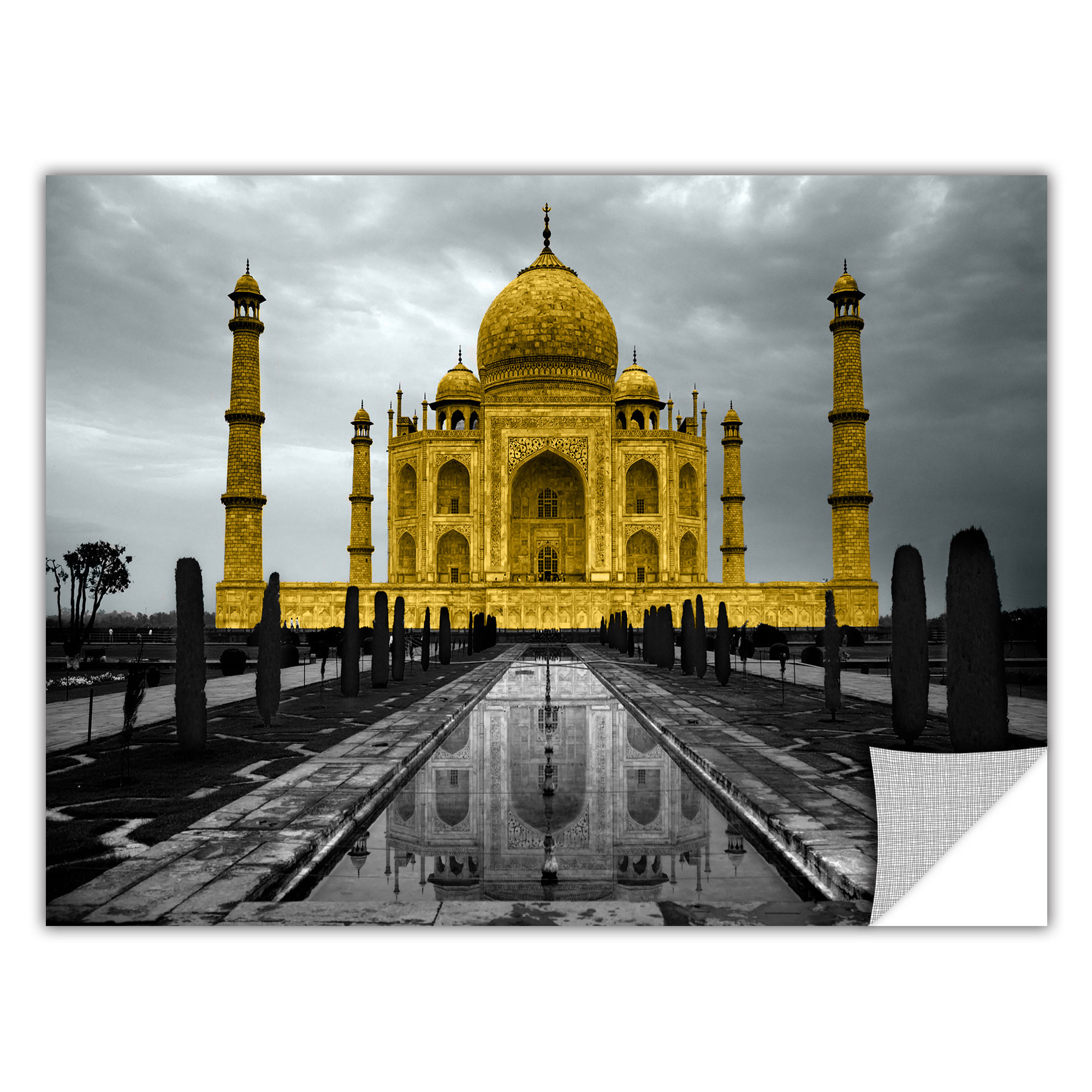 Taj Mahal\' Removable Wall Art Mural - Walmart.com