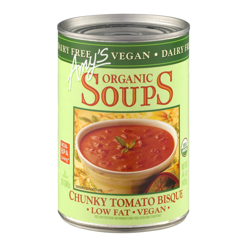 Amy's Organic Soups Chunky Tomato Bisque, 14.1 OZ