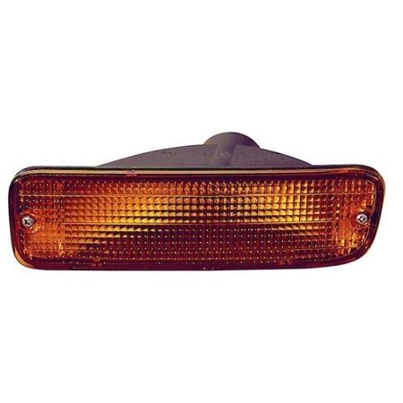 Front Signal Assembly Lens - Compatible 1995 - 1997 Toyota Tacoma Turn Signal Light Assembly / Lens Cover - Front Right (Passenger) Side - (RWD) 81510-35100 TO2531119 Replacement For Toyota Tacoma