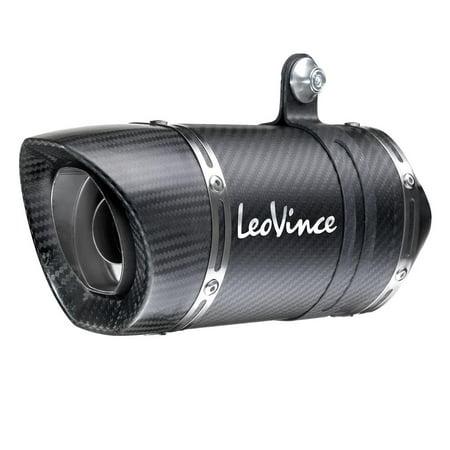 Leo Vince 14125E LV One Evo Slip-On - Carbon Fiber Muffler Csl Style Carbon Fiber Trunk