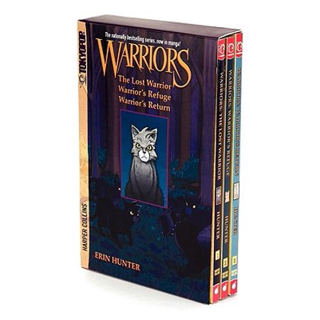 Warriors Manga Box Set: Graystripe's Adventure
