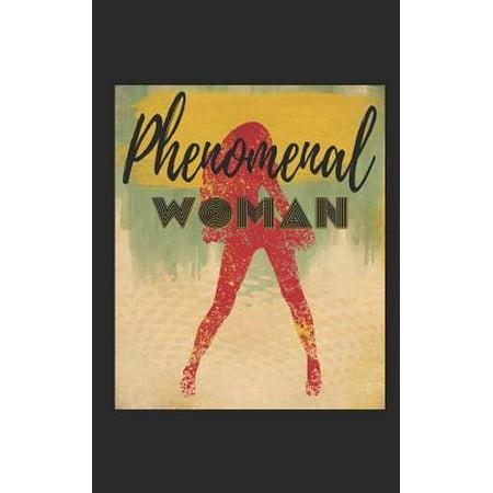 Phenomenal Woman: Glucose Monitor Log Book Compact Handy 5 X 8 Diabetic Blood Sugar Tracker Journal Paperback (Diabetic 101)