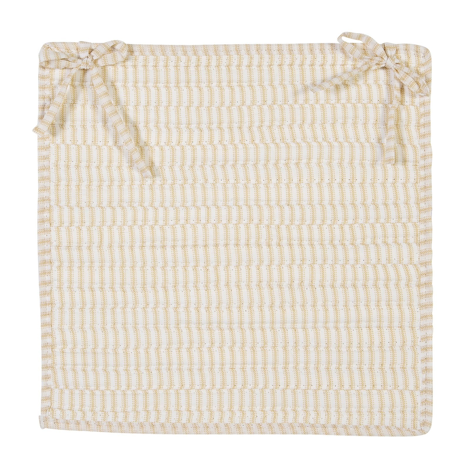 Colonial Mills Ticking Stripe Chair Pad Square 15 x 15 in. by Colonial Mills
