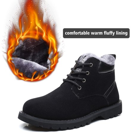 Grocosy Men Casual Winter Warm Snow Boots - image 10 of 10