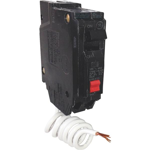 GE Industrial Dept. 30a/1p 120v Gfi with Test THQL1130GFTP