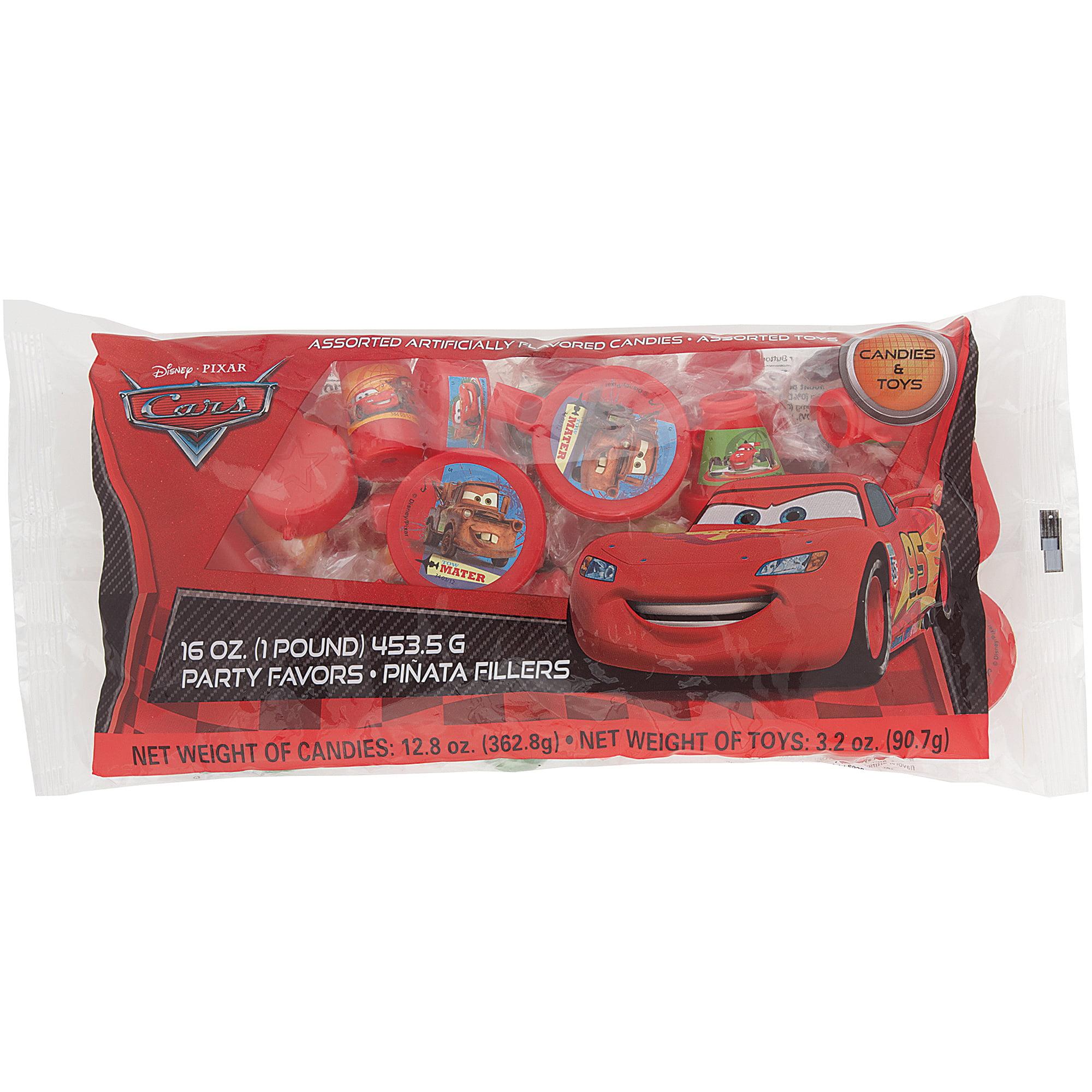 Disney Cars Pinata Filler, 1 lb, 1ct