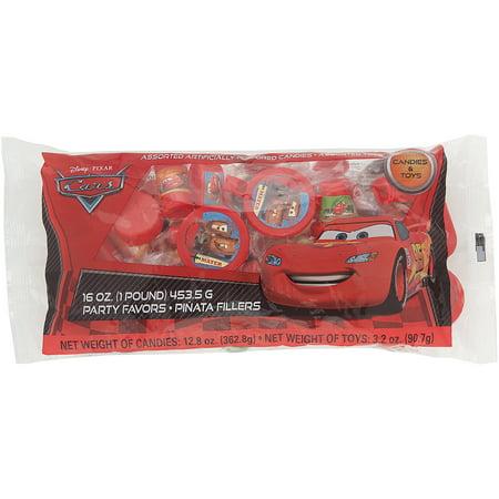 Disney Cars Party Supplies (Disney Cars Pinata Filler, 1 lb,)