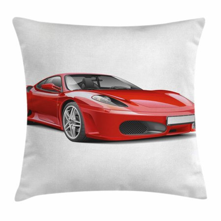 Teen Room Decor Throw Pillow Cushion Cover Fancy Italian Super Car Best Italian Decorative Pillows