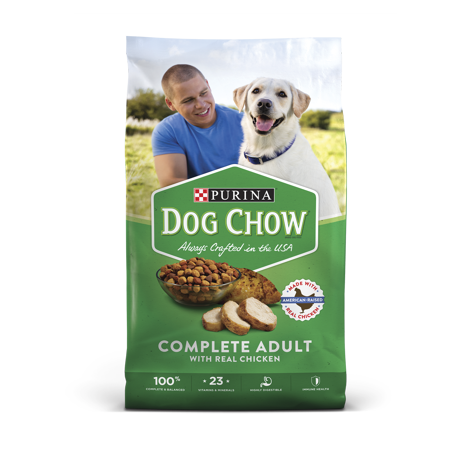 Purina Dog Chow Complete With Real Chicken Adult Dry Dog Food - 52 lb. Bag