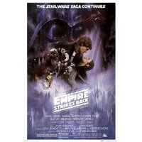 Star Wars: The Empire Strikes Back - The Saga Continues Movie 24x36 Poster