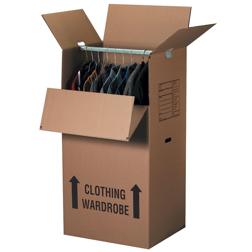 Box Partners Wardrobe Bxs,24x20x46,Kraft,5/BDL - BXP 242046WARD
