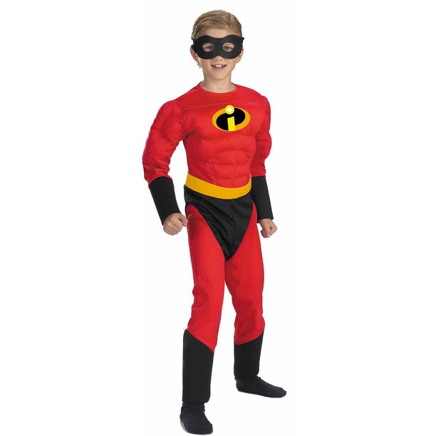 The Incredibles Boys Dash Classic Muscle Costume Walmart Com Walmart Com