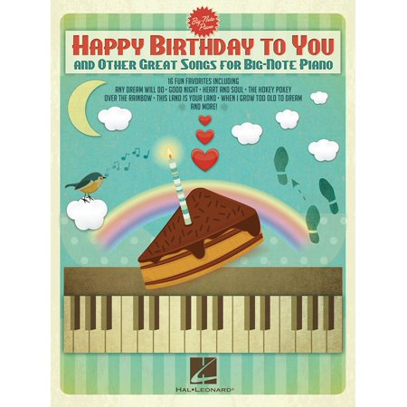 Happy Birthday to You and Other Great Songs for Big-Note Piano - eBook - Spanish Birthday Song