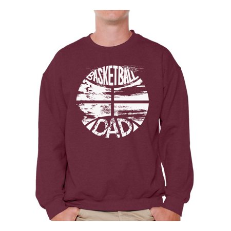 Awkward Styles Men's Basketball Dad Graphic Sweatshirt Tops Sports Dad Gift Father's Day Cool Gift Idea