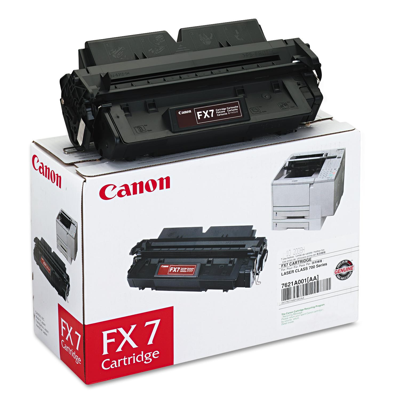 Canon 7621A001AA (FX7) Toner, Black