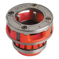 Ridgid Manual Threading/Pipe and Bolt Die Heads Complete w/Dies, 2 in - 11 1/2 NPT, 12R