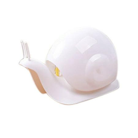 TureClos Cartoon Snail Liquid Soap Press Type Bottle Shampoo Shower Gel Box