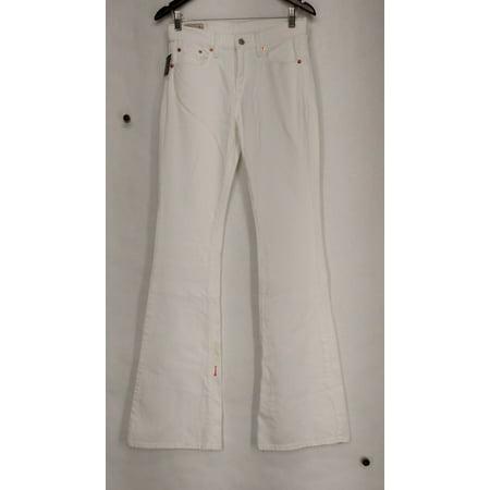 Ralph Lauren Jeans Sz 27 Low Rise 5-Pocket Flare Jeans White (Low Rise Flare Jean)