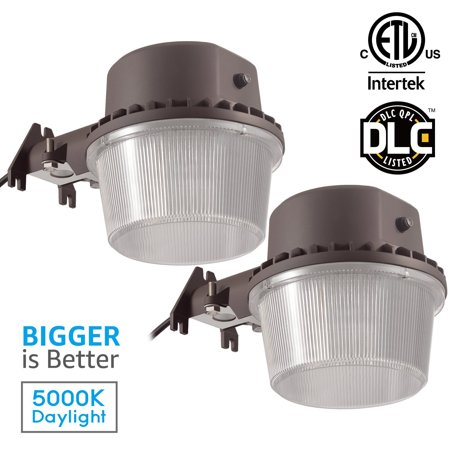 - TORCHSTAR 2 Pack 35W Outdoor Barn Light Sconce with Photocell, for Garden, Yard, Patio, 5000K Daylight
