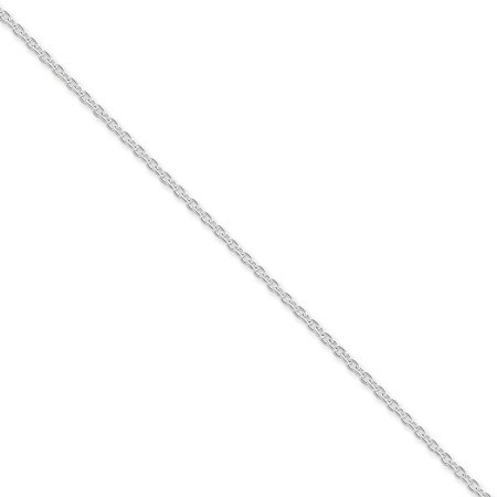 Sterling Silver 18in 1.95mm Cable Necklace Chain