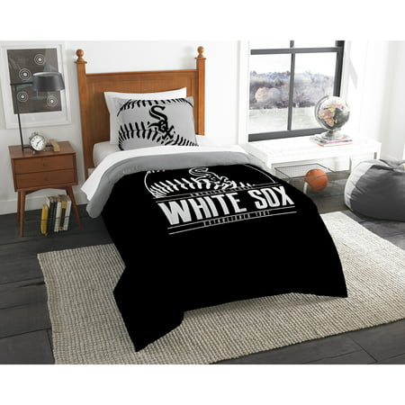 Chicago White Sox The Northwest Company Grand Slam Twin Comforter Set - No Size