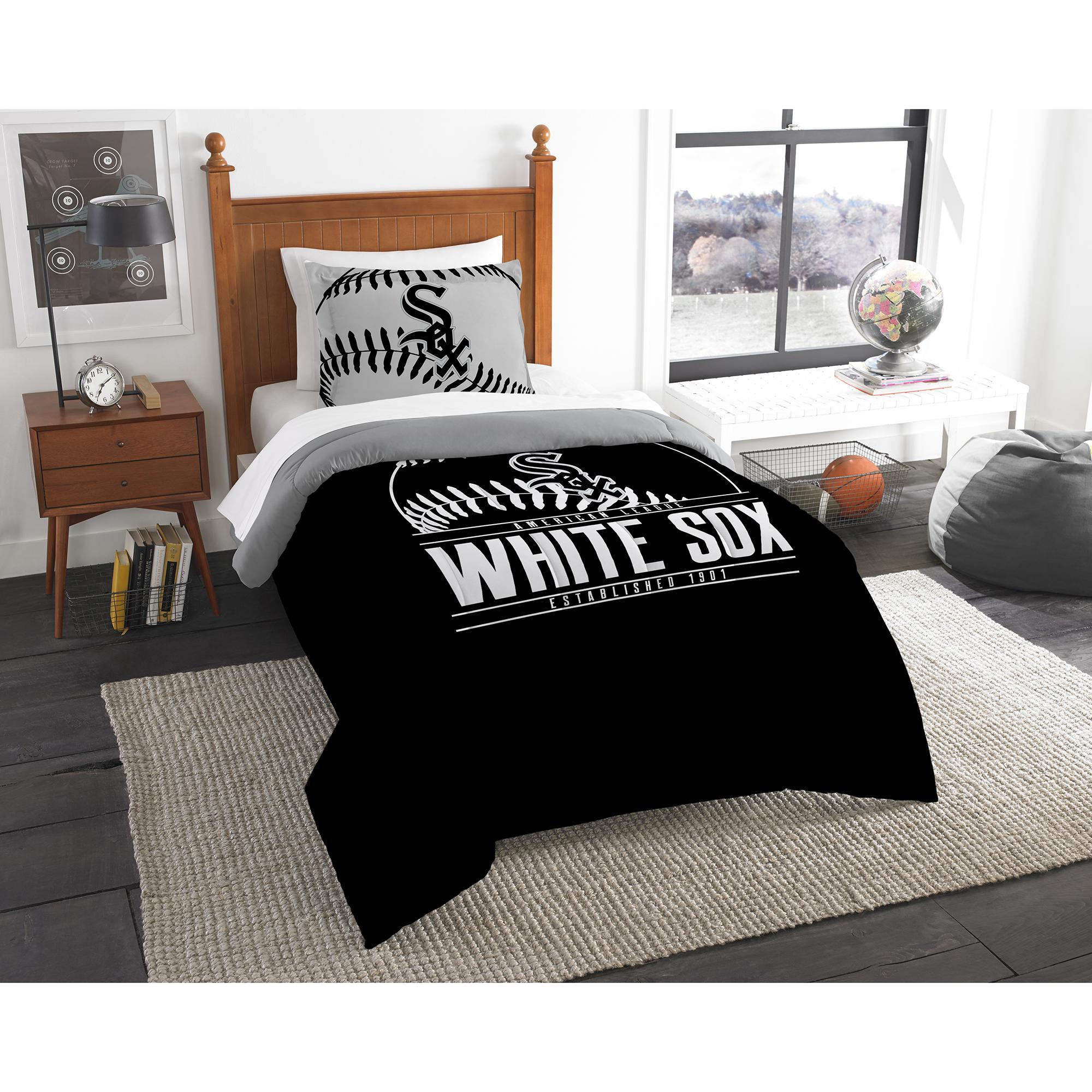 Chicago White Sox The Northwest Company Grand Slam Twin Comforter Set - No Size