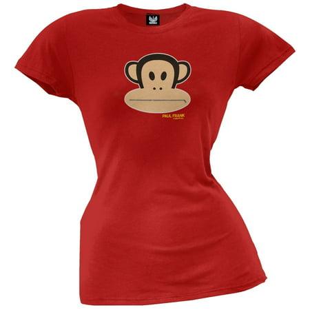 Paul Frank - Zipper Julius Juniors T-Shirt - Paul Frank Merchandise