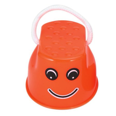 Funny Plastic Children Kids Outdoor Fun Walk Stilt Jump Smile Face Pattern Sports Balance Training Toy Best Gift - image 3 de 7