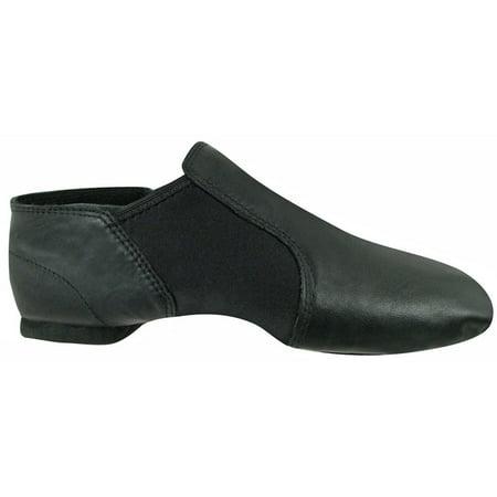 Girls Black Leather Gore Split Sole Jazz Boots 10 Toddler-4Kids](Girls Black Patent Leather Boots)