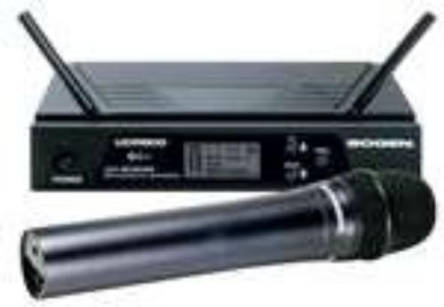 Bogen Udms800hh Uhf Wireless Handheld Microphone System 470 Mhz To 490 Mhz System... by Bogen
