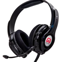 Syba GamesterGear OG-AUD63090 Cruiser PC210-I USB Gaming Headset, Black