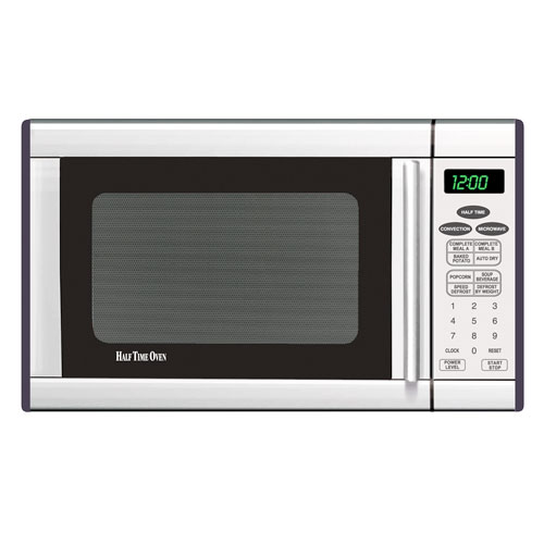 Half Time 1.2 Cu. Ft. ConvectionMicrowave Oven, Stainless Steel