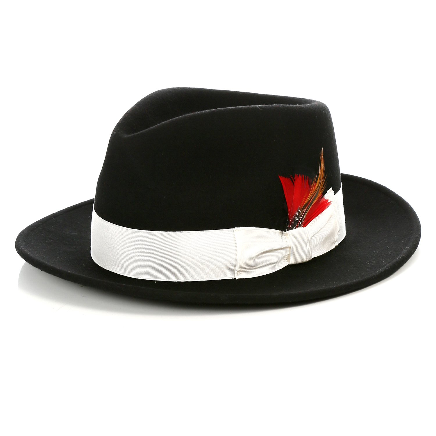Infinity Selections Womens Fedora Hat-8951