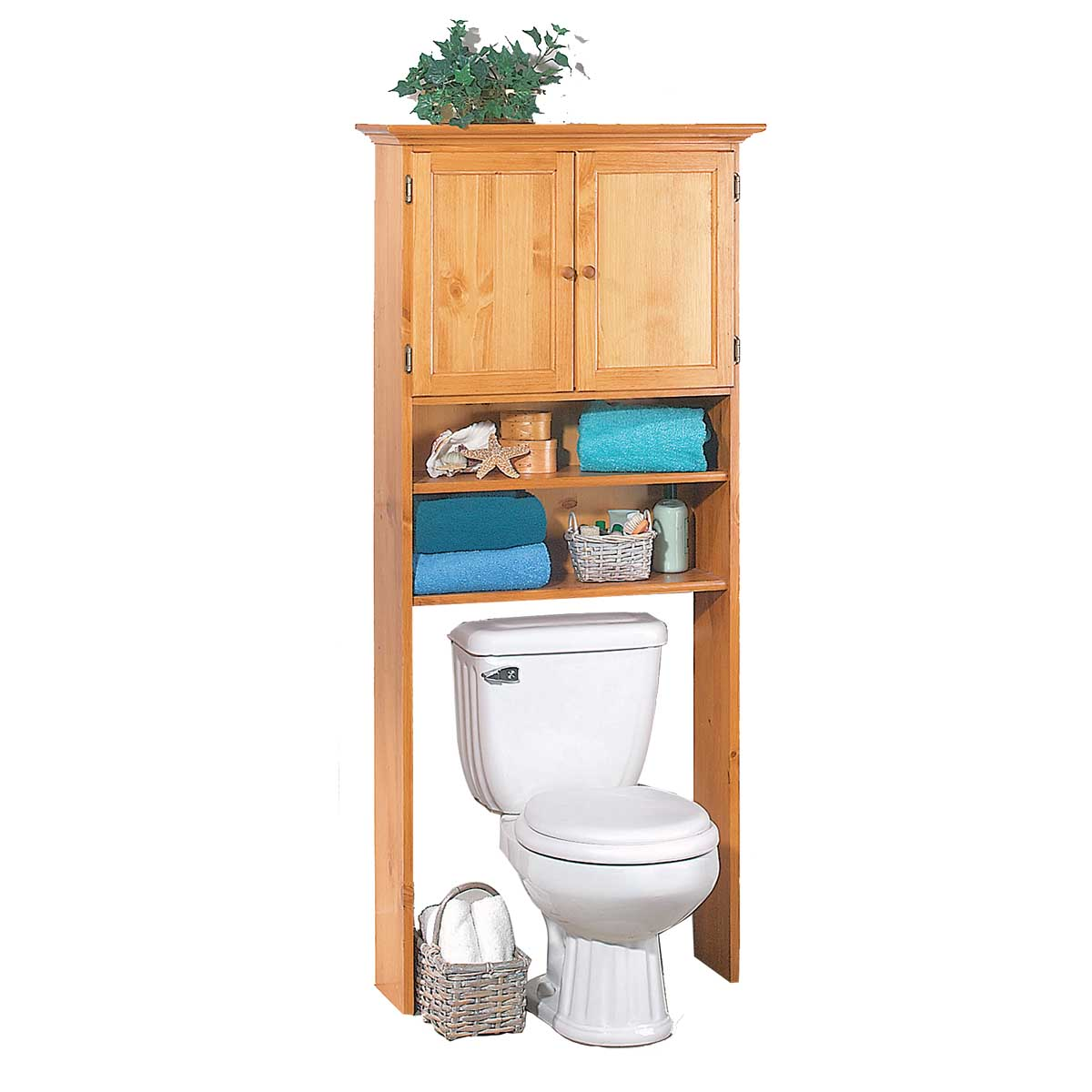 toilet shelf storage bathroom heirloom pine