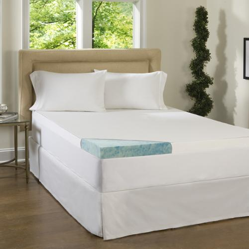 Beautyrest 3-inch Supreme Gel Memory Foam Mattress Topper with Cover Twin