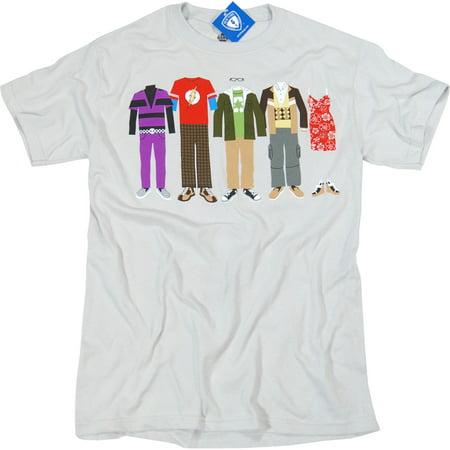 The Big Bang Theory T-Shirt - Group - Big Bang Theory Halloween Party Quotes